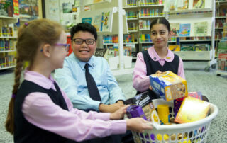 St Vincent's Catholic Primary School Ashfield students