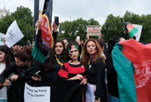 'Stop Killing Afghan' protest in London